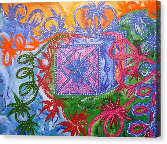 Canvas Print - Gift by Joanna Pilatowicz