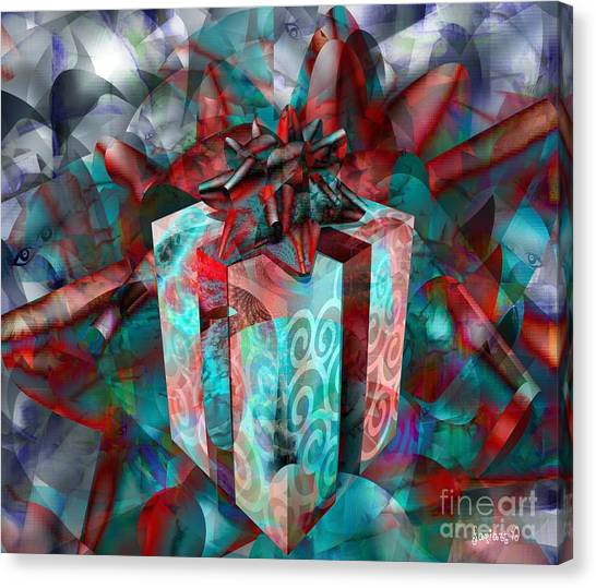 Gifts For Street Kids International Canvas Print by Fania Simon