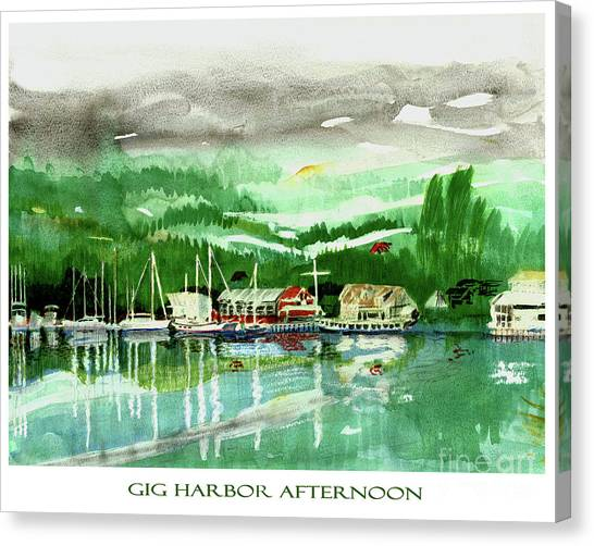 Canvas Print - Gig Harbor Afternoon by Jack Pumphrey