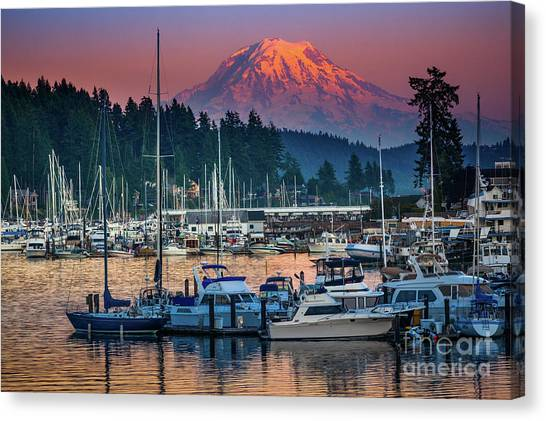 Gig Harbor Dusk Canvas Print