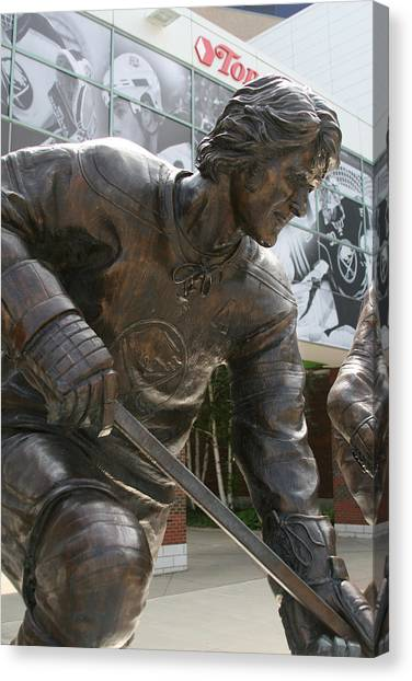 Buffalo Sabres Canvas Print - Gilbert by Sandy Fraser