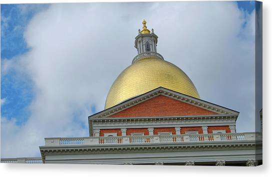 Gilded Dome Canvas Print by JAMART Photography