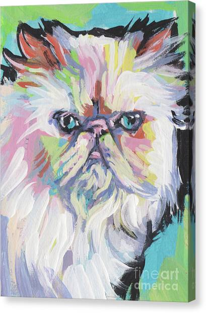 Himalayan Cats Canvas Print - Gimme Himma by Lea