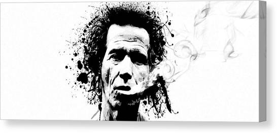 Gimme Shelter Canvas Print by Laurence Adamson