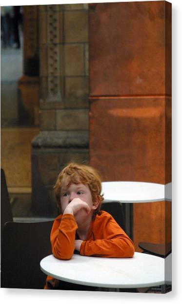 Ginger Moments Canvas Print by Jez C Self