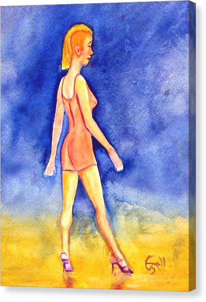 Ginny Canvas Print by T Ezell