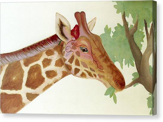 Giraffe Avatar Canvas Print