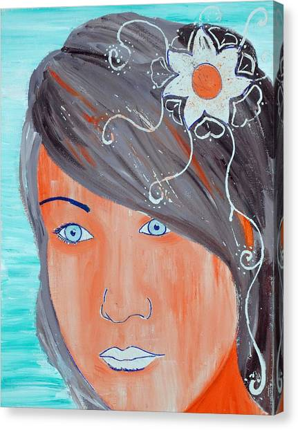 Girl 12 Canvas Print