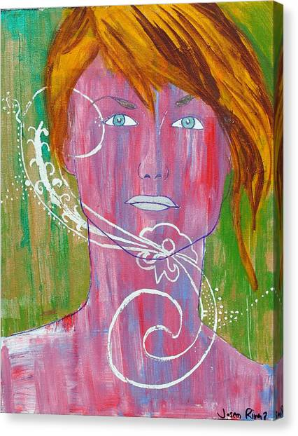 Girl 13 Canvas Print