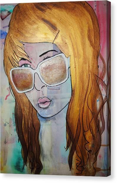 Girl 16 Canvas Print