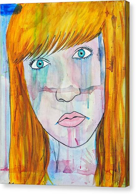 Girl 17 Canvas Print