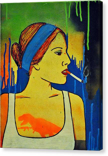 Girl 19 Canvas Print