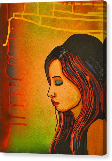 Girl 20 Canvas Print