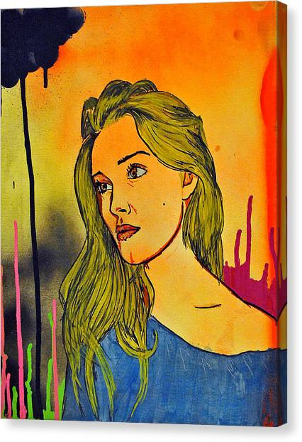 Girl 21 Canvas Print