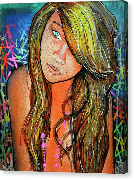 Girl 22 Canvas Print