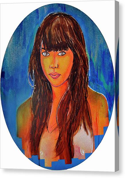 Girl 23 Canvas Print