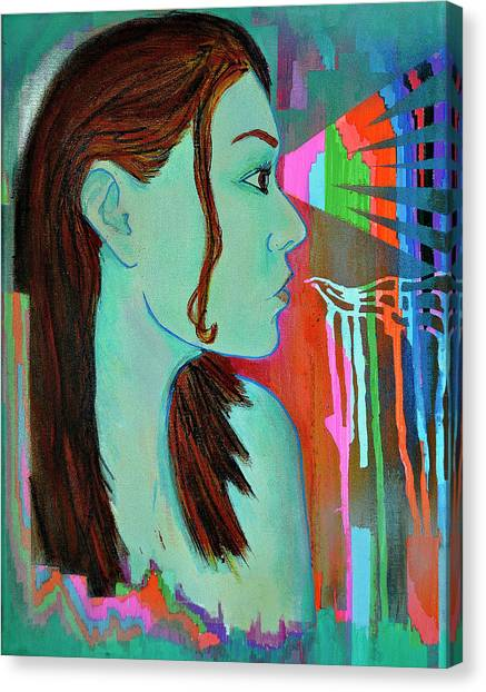 Girl 24 Canvas Print