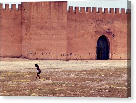 Girl In Marrakesh  Canvas Print