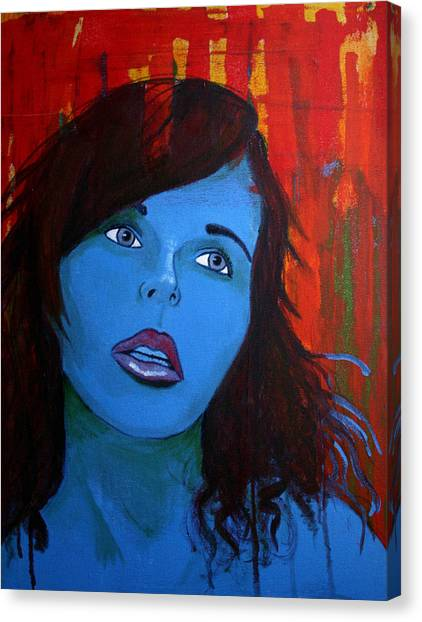 Girl5 Canvas Print