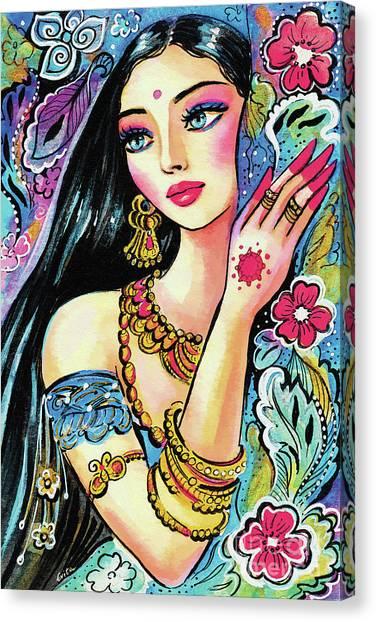 Gita Canvas Print