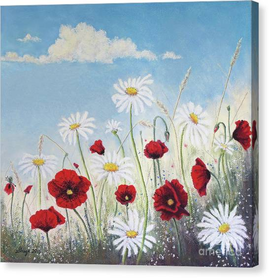 Give Me A Daisy Canvas Print