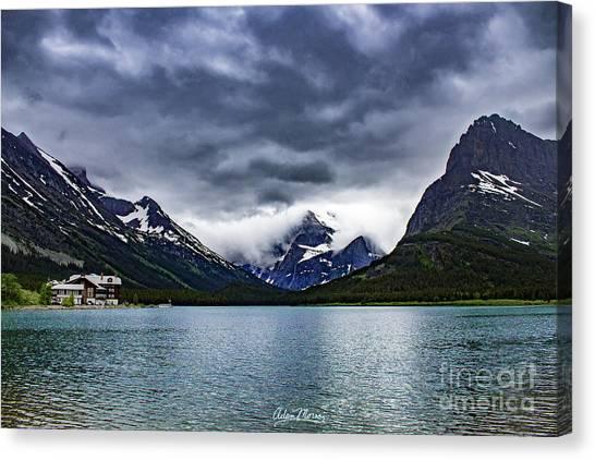 Glacial Getaway Canvas Print