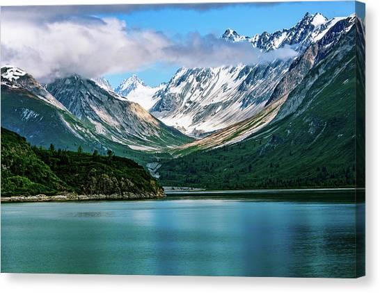 Glacial Valley Canvas Print