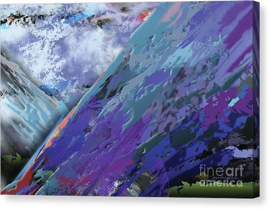 Glacial Vision Canvas Print