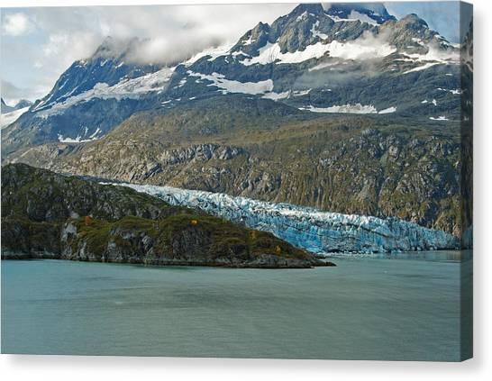 Margerie Glacier Canvas Print - Glacier Bay Margerie Glacier by Michael Peychich