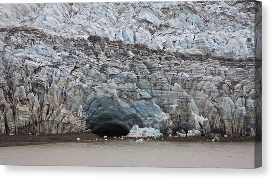 Glacier Cavern Canvas Print by Robert Joseph