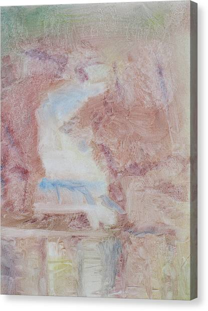 Glacier Falls Canvas Print by Robert Bissett