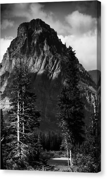 Glacier National Park Fifty Three Canvas Print