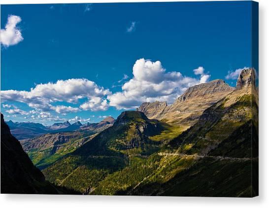 Glacier National Park Canvas Print by Jon Woodbury