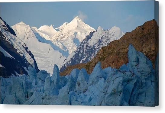 Glacier National Park Canvas Print - Glacier National Park by Mariel Mcmeeking