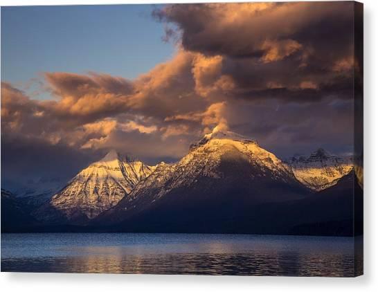 Glacier National Park Canvas Print - Glacier National Park by Super Lovely