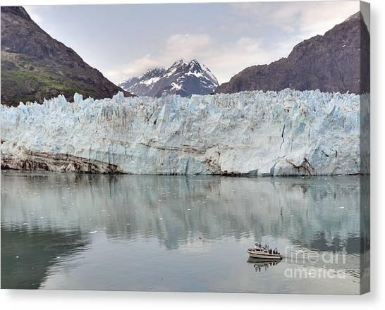 Margerie Glacier Canvas Print - Glacier Passage by Jim Chamberlain