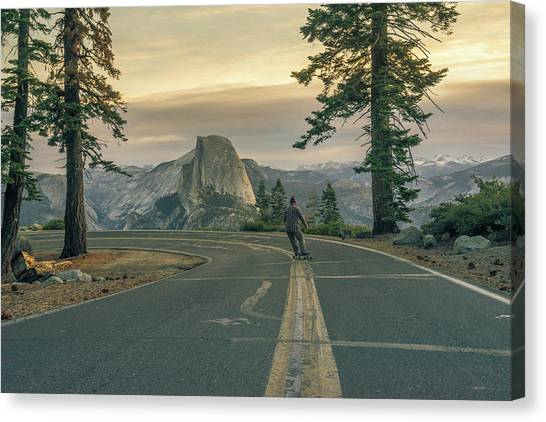 Glacier Point Adventure Canvas Print