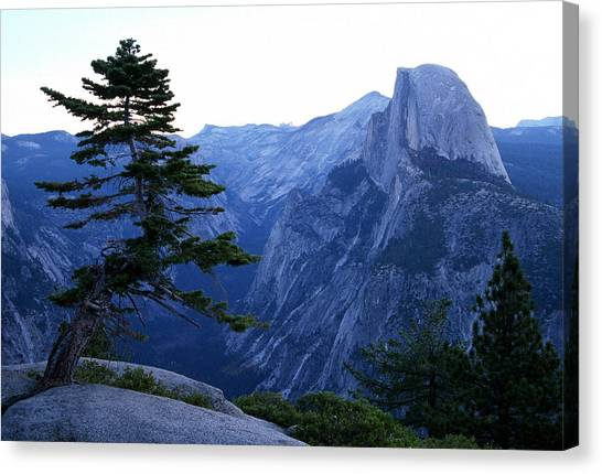 Glacier Point Canvas Print