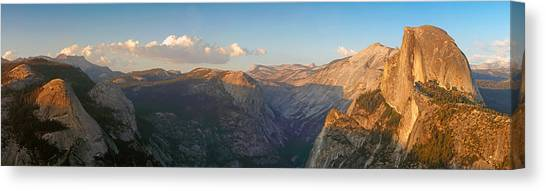 Glacier Point Panorama Canvas Print
