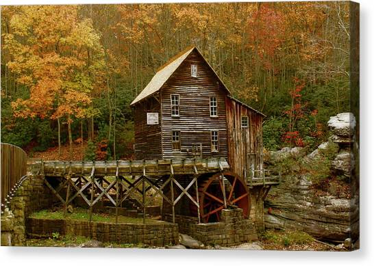 Glade Grist Mill Canvas Print