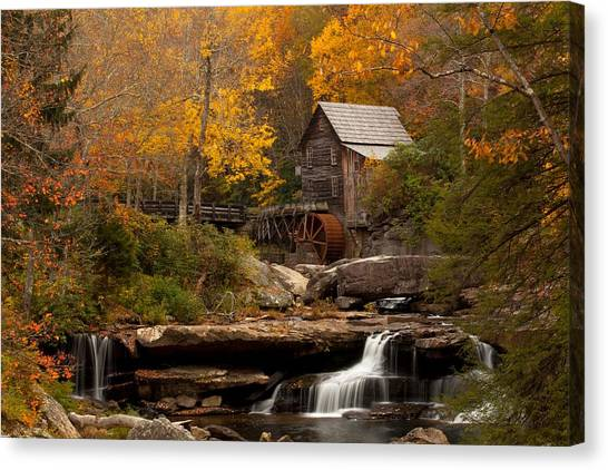 Mountain West Canvas Print - Glades Creek Mill by Doug McPherson