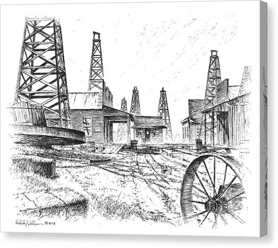Gladys City Canvas Print