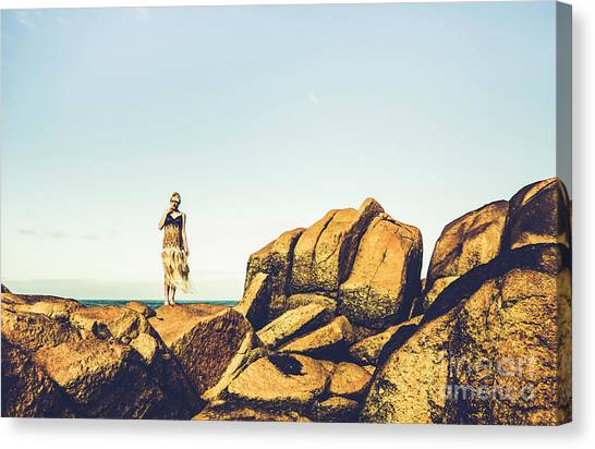 Casual Canvas Print - Glamour In Untouched Paradise by Jorgo Photography - Wall Art Gallery