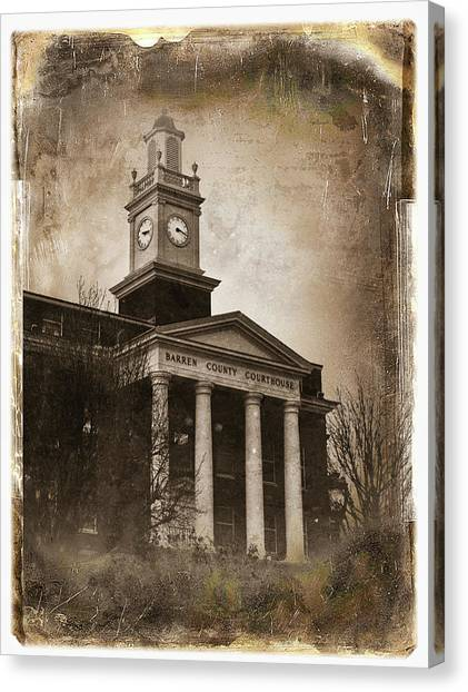 Glasgow Ky Courthouse Canvas Print