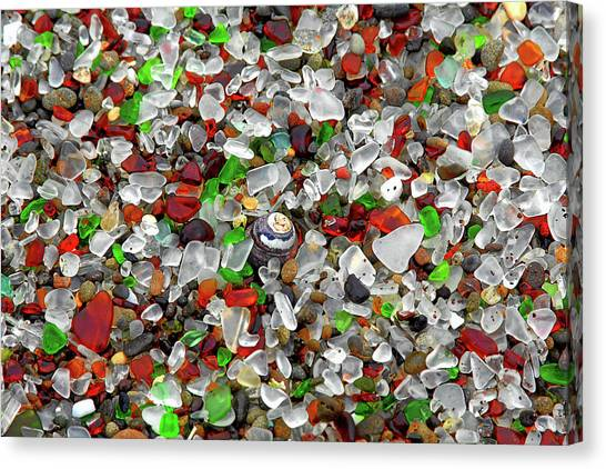 Glass Beach Fort Bragg Mendocino Coast Canvas Print