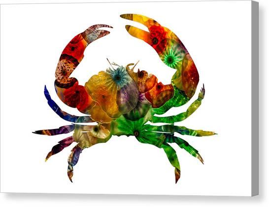 Glass Crab Canvas Print