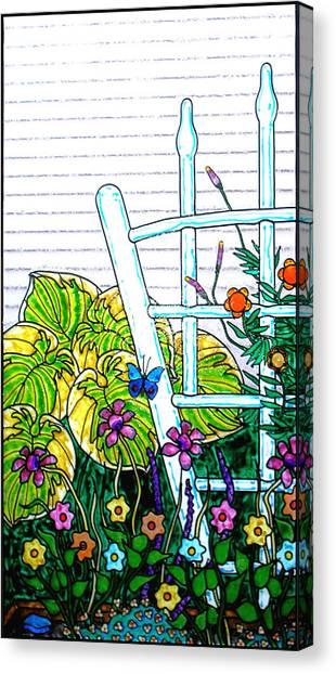 Canvas Print - Glass Garden Left by Rich Travis