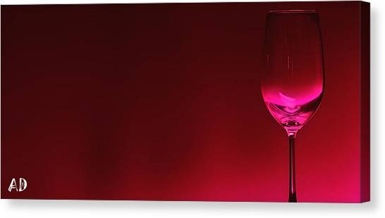 Canvas Print - Glass Of Wine by Abhijeet Dhidhatre