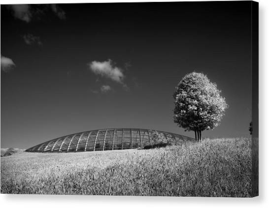 Glasshouse At The National Botanic Gardens, Wales Canvas Print