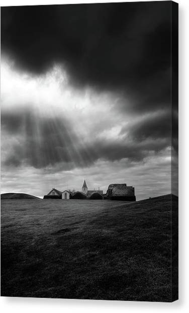 Museums Canvas Print - Glaumbaer by Tor-Ivar Naess